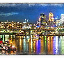 Cincinnati NIght Life by Randy & Kay Branham