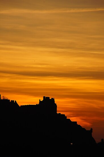 Castle Silhouette by Nik Watt