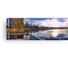 Panoramas from Kassasjön Canvas Print