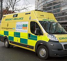 North West Ambulance Service Manchester Station by Keith Larby
