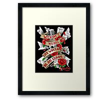 Without Music Framed Print