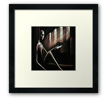 Crack House Church Framed Print