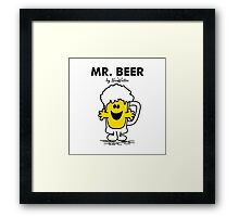 Mr Beer Framed Print