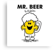 Mr Beer Canvas Print