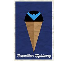 Neapolitan Nightwing Photographic Print