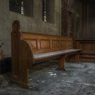 church bench by Nicole W.