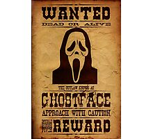Wanted Ghostface Photographic Print