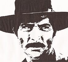 Lee Van Cleef by Ant-Acid