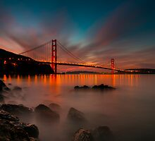 Flipped Sunset by Toby Harriman