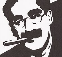 Groucho Marx by Ant-Acid