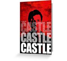 Castle Castle Castle Greeting Card