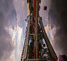 Flower and Garden Monorail by Brett Kiger