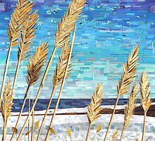 Wintertime on Lake Erie by MSRowe Art and Design