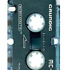 retro grundig tape by satinfine