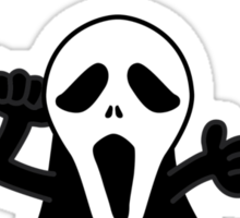 Mr Ghostface Sticker