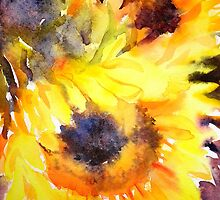Sunflowers by Ruth S Harris