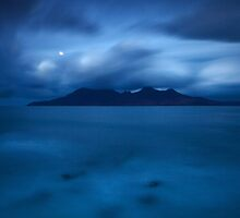 Moonlight over Rum by damophoto