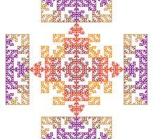 Persian Tile by Ross Hilbert