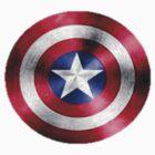 Captain America Shield design by funkymonkey78