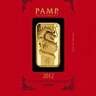 PAMP gold Dragon ingot bullion bar by jlerner