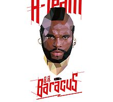 The A-Team B.A. Baracus by crowndeersign