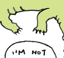 Crocodiles Aren't Evil Sticker