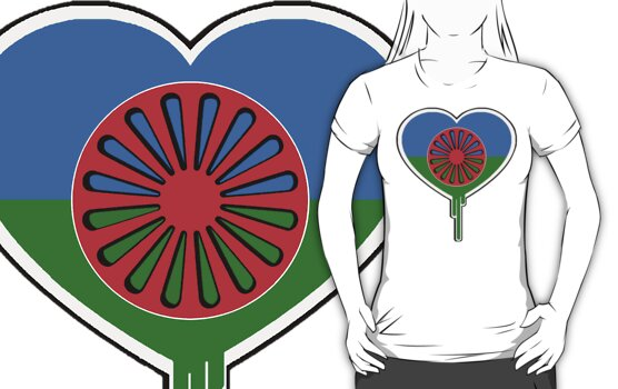 ROMA GYPSY BLEEDING HEART by SOL  SKETCHES™