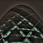 HDR Gherkin By Night. by Chris Hardley