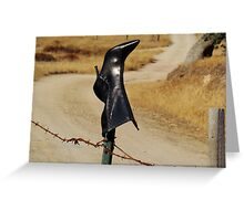 The Boot Greeting Card