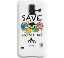 SAVE OLYMPIC WRESTLING!!! Samsung Galaxy Case/Skin