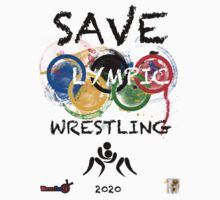SAVE OLYMPIC WRESTLING!!! Kids Clothes