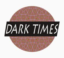 Dark Times Patterned Logo by traaavz