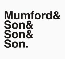 Mumford & Sons by Ricardo Merjan