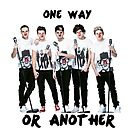 One Direction One Way or Another by gleviosa