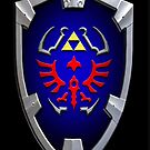 Hyrule shield by aaronnaps
