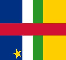 Central African Republic Flag by pjwuebker