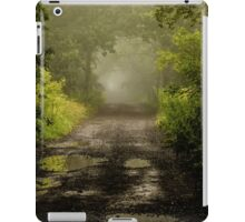 Misty Woodland Lane II iPad Case/Skin