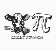 Cow Pi Udderly Awesome by MudgeStudios