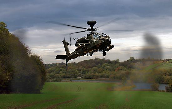 Apache In The Field by J Biggadike
