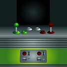 Retro Video Game Console iPad / iPhone 4 / iPhone 5 Case by CroDesign