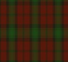00044 Kerr/Carr Clan Tartan Fabric Print Iphone Case by Detnecs2013