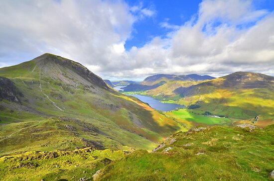 The Lake District: Overlooking Buttermere by Rob Parsons