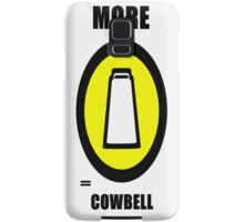 More Cowbell Samsung Galaxy Case/Skin