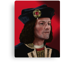 Richard III Canvas Print