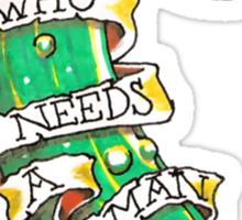The Cucumber Sticker