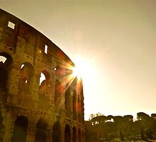 The Rising Sun Over Rome by nickfane