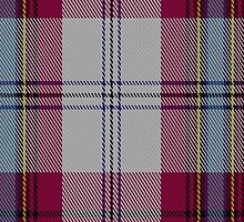 00067 Maclean (Dress) Clan Tartan Fabric Print Iphone Case by Detnecs2013