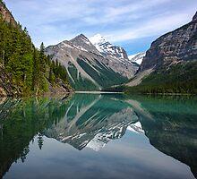 Mirror on Lake Kinney by John Sidey