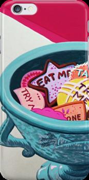 Alice In Wonderland - Eat Me by FameMonster