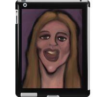 funhouse mirror iPad Case/Skin